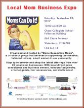 local moms expo flyer